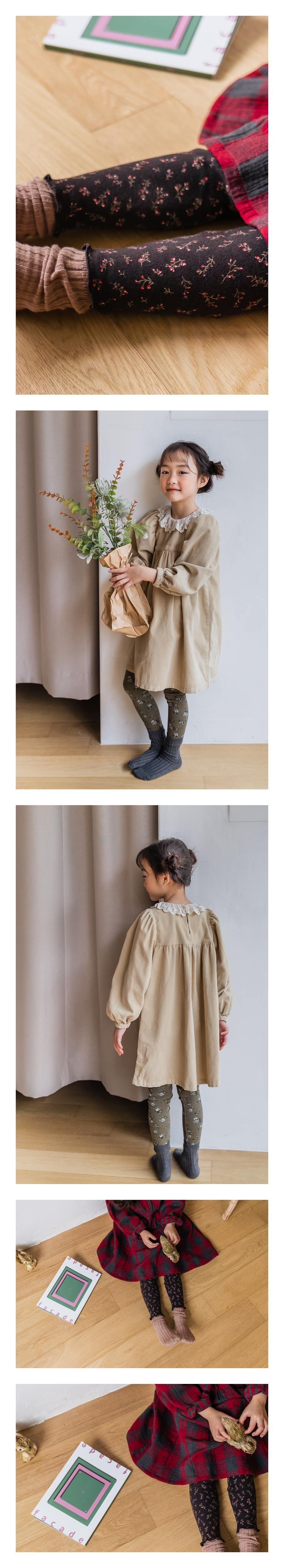 MILK POWDER - Korean Children Fashion - #Kfashion4kids - Flower Leggings - 2