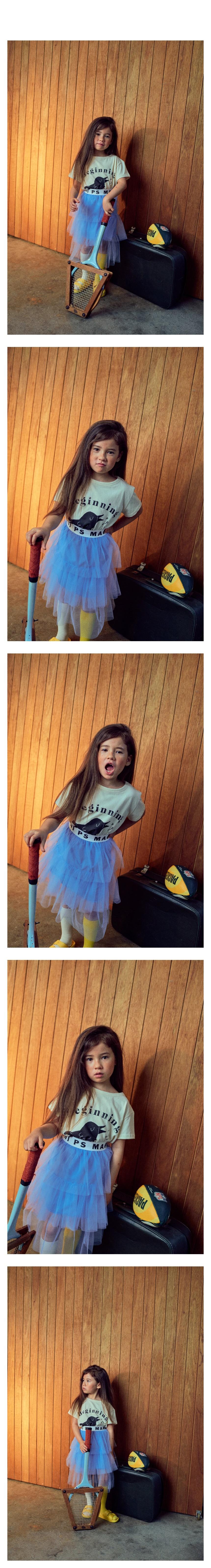 MINI PS MARKET - Korean Children Fashion - #Kfashion4kids - Mini Band Cha Skirt