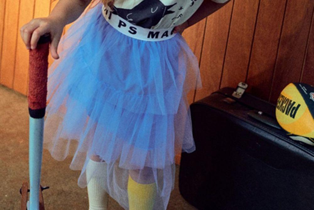 MINI PS MARKET - BRAND - Korean Children Fashion - #Kfashion4kids - Mini Band Cha Skirt