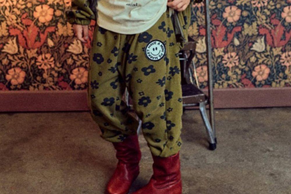 MINI PS MARKET - BRAND - Korean Children Fashion - #Kfashion4kids - Daisy Pigment Pants