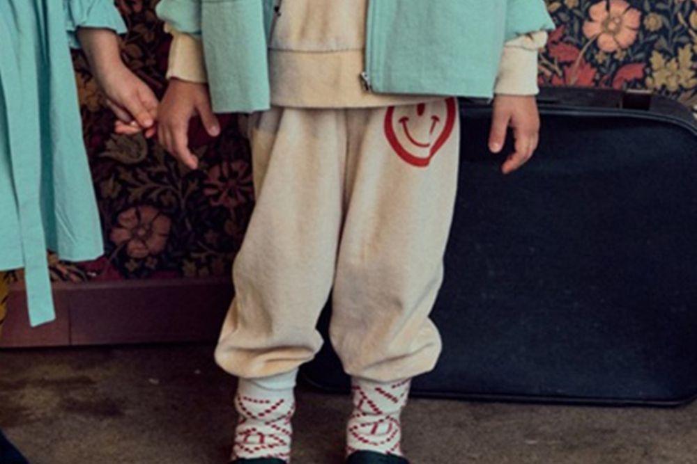 MINI PS MARKET - BRAND - Korean Children Fashion - #Kfashion4kids - Smile Veloure Pants