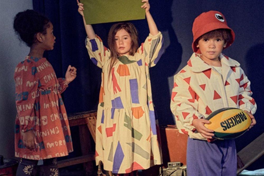 MINI PS MARKET - BRAND - Korean Children Fashion - #Kfashion4kids - Square Shape One-piece