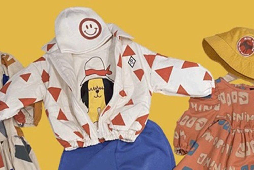 MINI PS MARKET - BRAND - Korean Children Fashion - #Kfashion4kids - Dog with Hat Tee