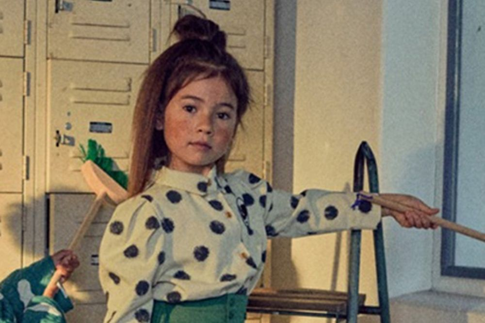 MINI PS MARKET - BRAND - Korean Children Fashion - #Kfashion4kids - Mini Dot Shirt