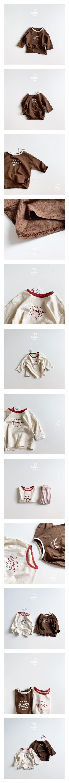 MINI ROBE - Korean Children Fashion - #Kfashion4kids - Heart Mikey Tee
