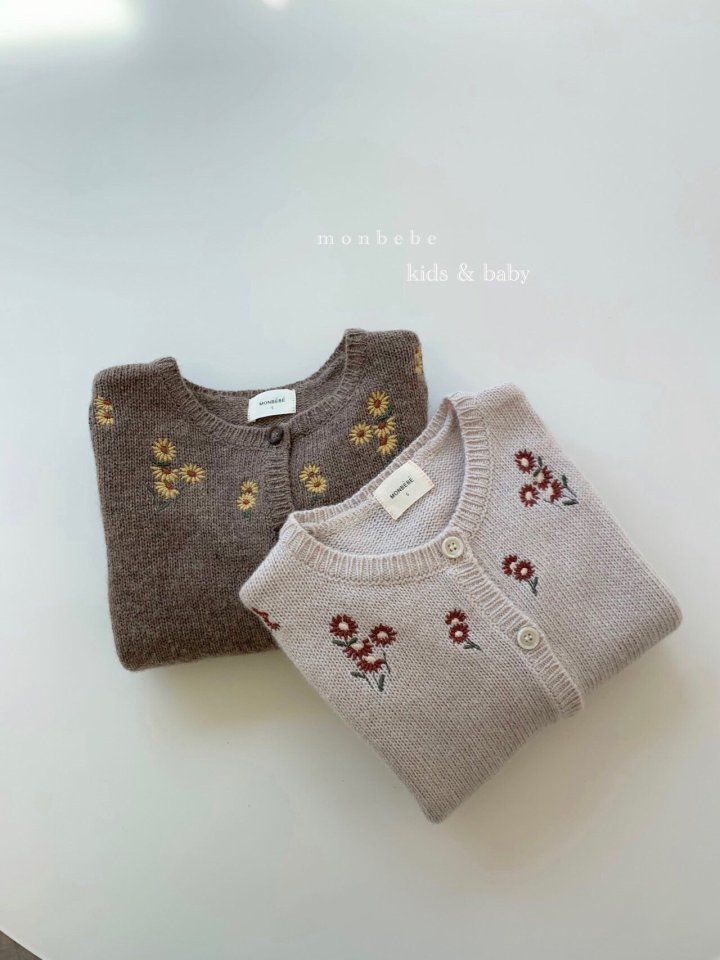 MONBEBE - Korean Children Fashion - #Kfashion4kids - Chamomile Cardigan
