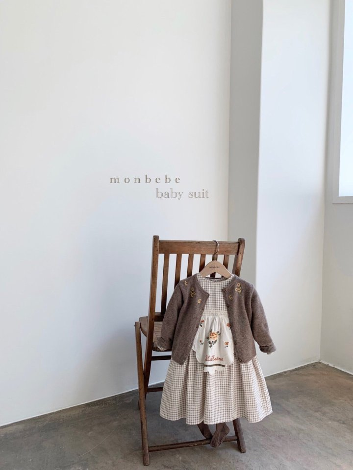 MONBEBE - Korean Children Fashion - #Kfashion4kids - Chamomile Cardigan - 10