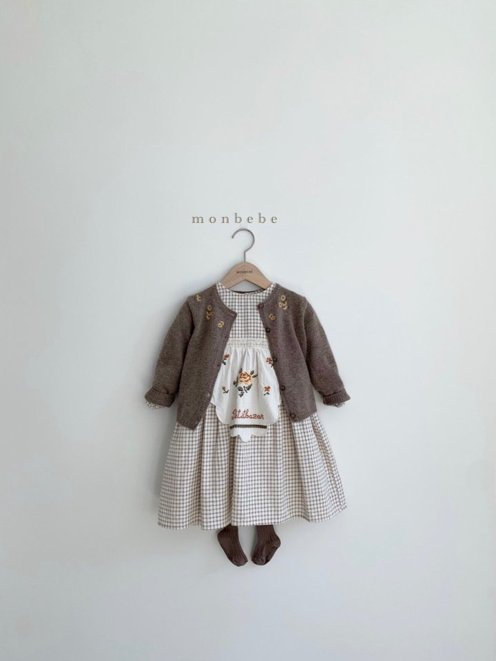 MONBEBE - Korean Children Fashion - #Kfashion4kids - Chamomile Cardigan - 11