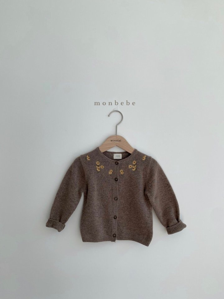 MONBEBE - Korean Children Fashion - #Kfashion4kids - Chamomile Cardigan - 3