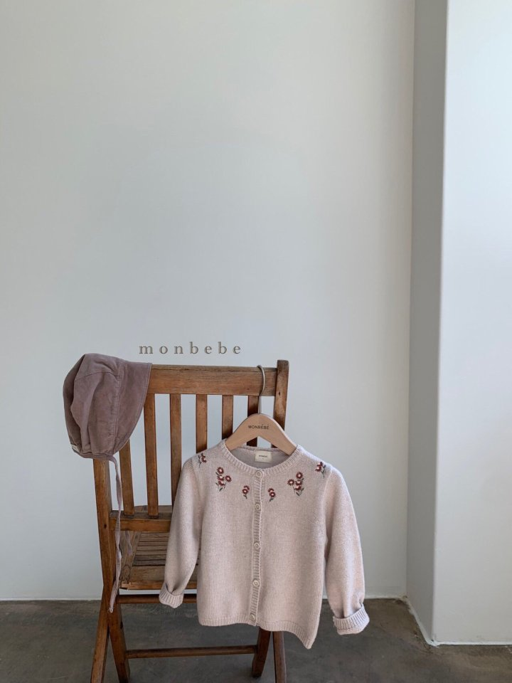 MONBEBE - Korean Children Fashion - #Kfashion4kids - Chamomile Cardigan - 8