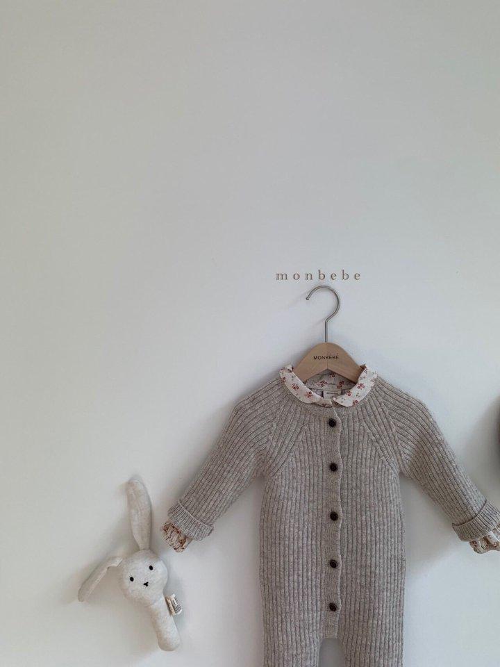 MONBEBE - Korean Children Fashion - #Kfashion4kids - Rib Knit Bodysuit - 10