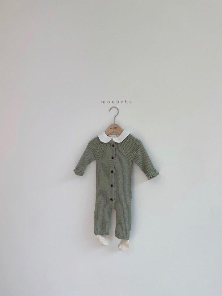 MONBEBE - Korean Children Fashion - #Kfashion4kids - Rib Knit Bodysuit - 12