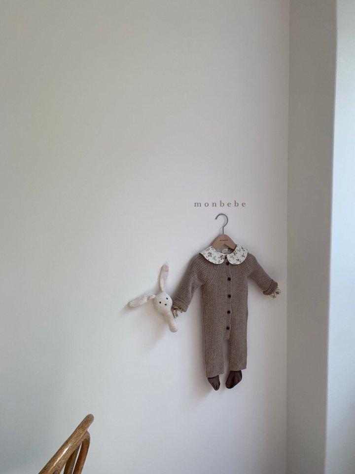 MONBEBE - Korean Children Fashion - #Kfashion4kids - Rib Knit Bodysuit - 5