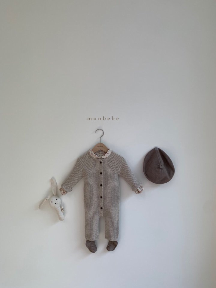 MONBEBE - Korean Children Fashion - #Kfashion4kids - Rib Knit Bodysuit - 9