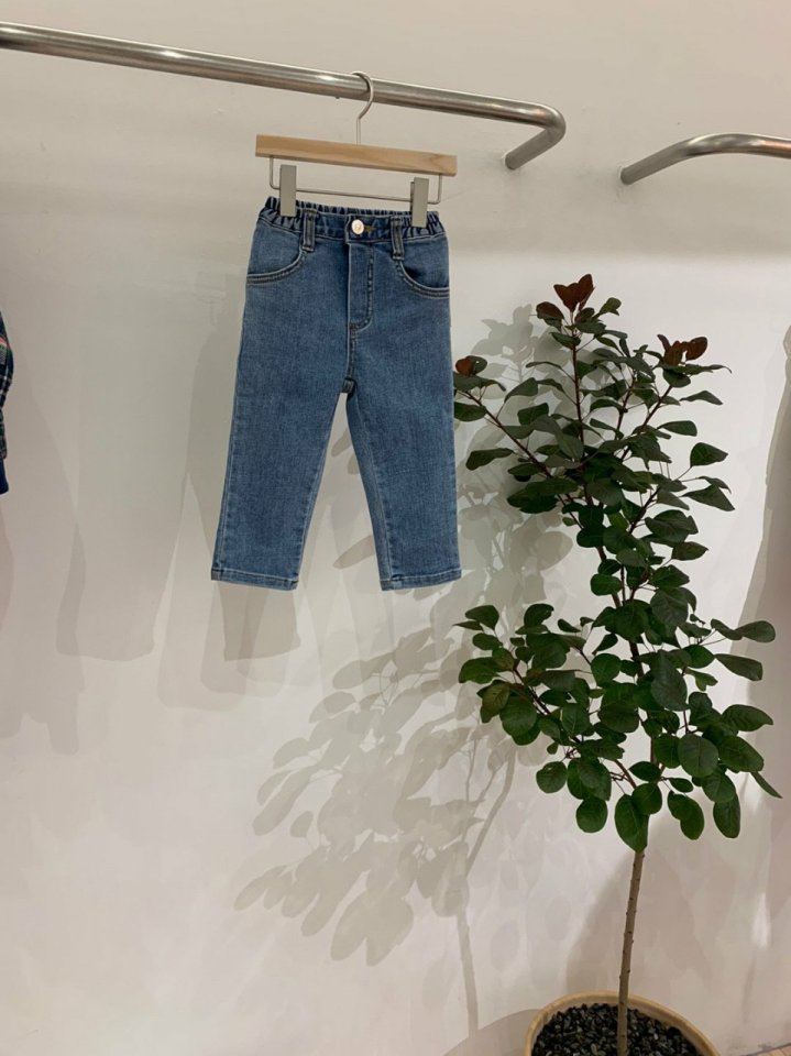 MOOI STORE - Korean Children Fashion - #Kfashion4kids - Mooi Denim Pants - 2