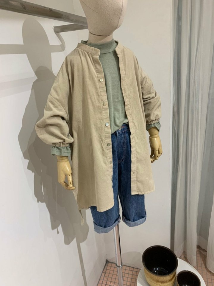 MOOI STORE - Korean Children Fashion - #Kfashion4kids - Trench One-piece with Lace Collar - 6