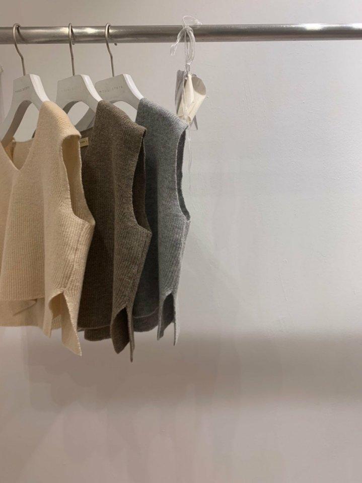 MOOI STORE - Korean Children Fashion - #Kfashion4kids - Wool Vest