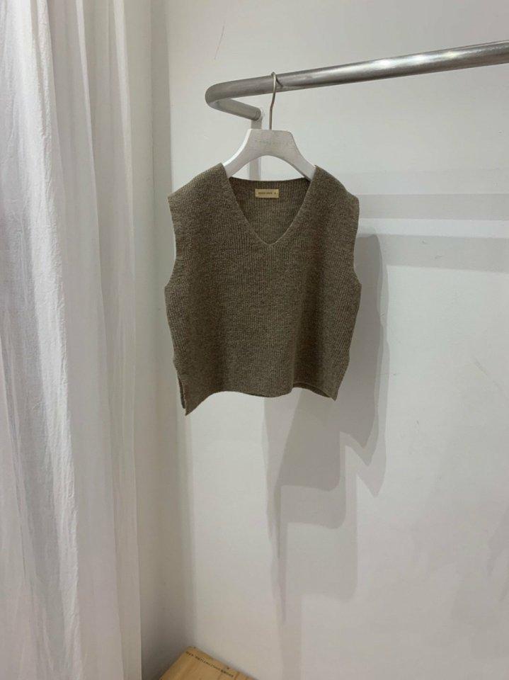 MOOI STORE - Korean Children Fashion - #Kfashion4kids - Wool Vest - 3