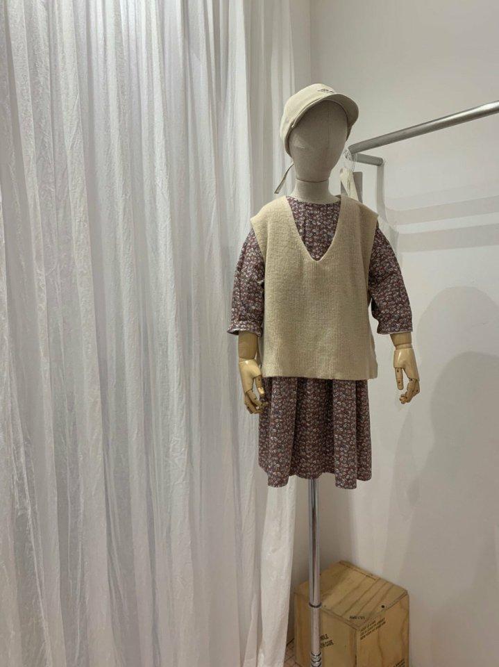 MOOI STORE - Korean Children Fashion - #Kfashion4kids - Wool Vest - 7