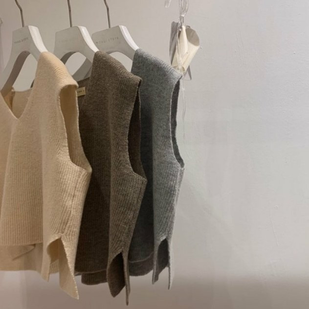 MOOI STORE - BRAND - Korean Children Fashion - #Kfashion4kids - Wool Vest