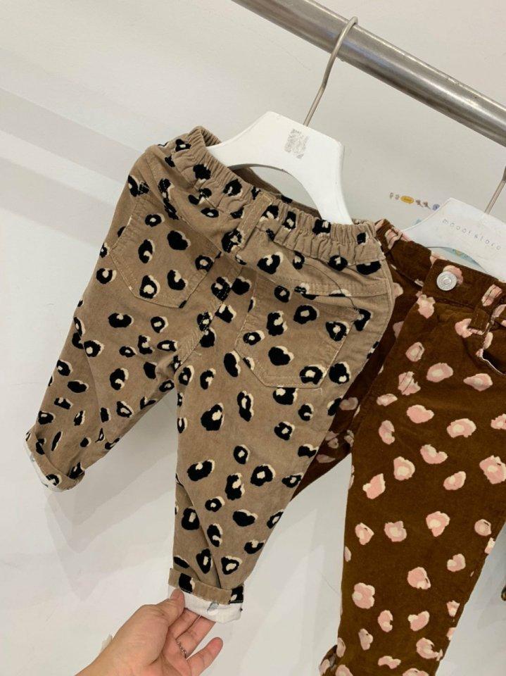 MOOI STORE - Korean Children Fashion - #Kfashion4kids - Leopard Pants - 8