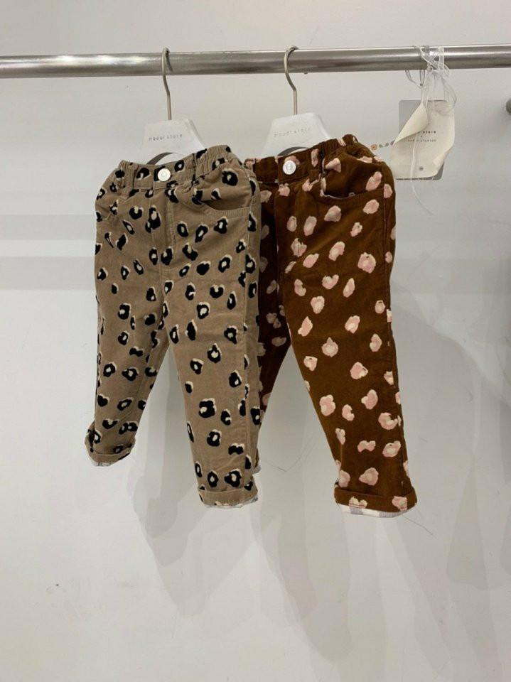 MOOI STORE - BRAND - Korean Children Fashion - #Kfashion4kids - Leopard Pants