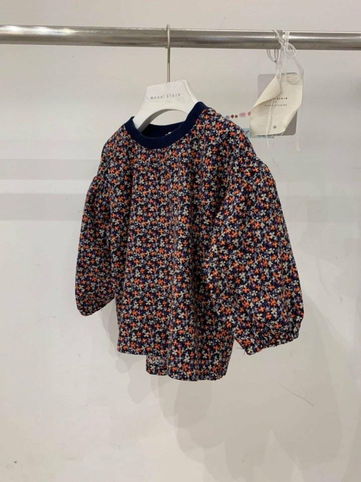 MOOI STORE - Korean Children Fashion - #Kfashion4kids - Small Flower Puff MTM - 3