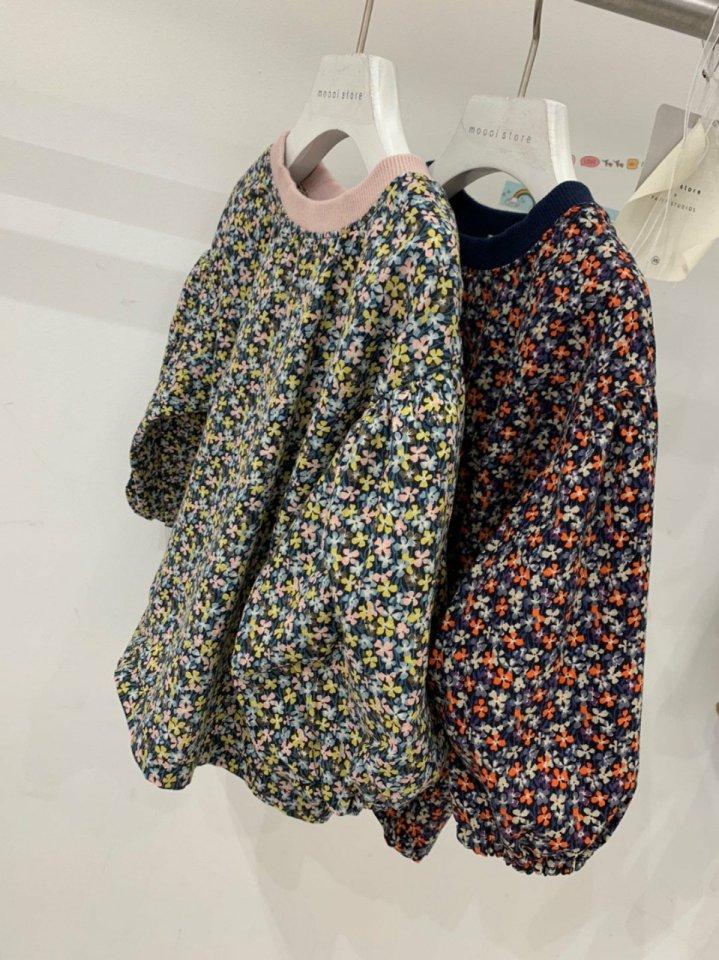 MOOI STORE - Korean Children Fashion - #Kfashion4kids - Small Flower Puff MTM - 4