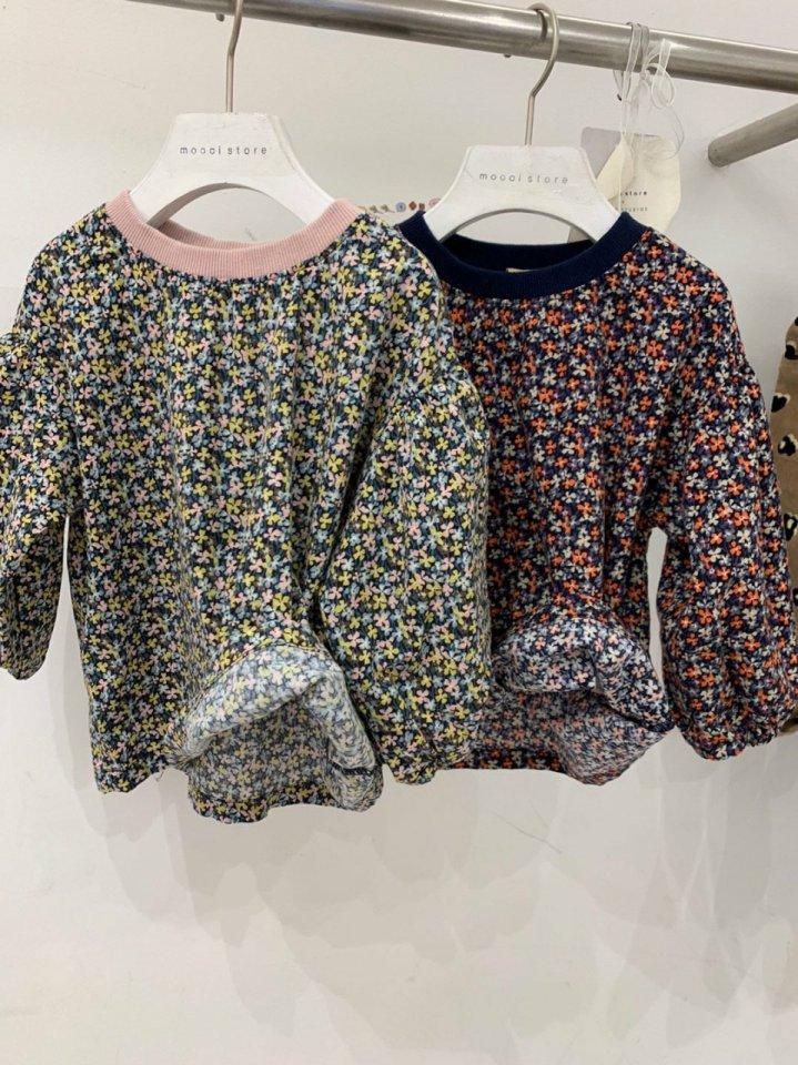 MOOI STORE - Korean Children Fashion - #Kfashion4kids - Small Flower Puff MTM - 6