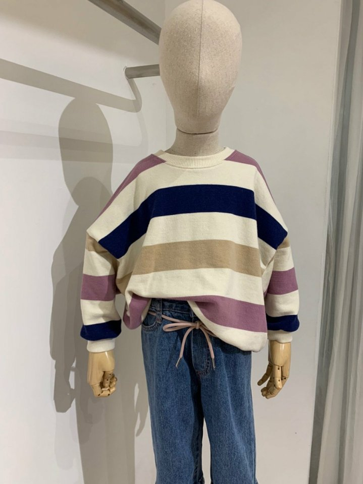 MOOI STORE - Korean Children Fashion - #Kfashion4kids - Dandan Stripe MTM - 5