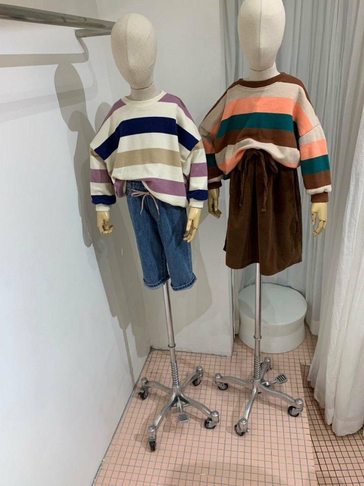 MOOI STORE - Korean Children Fashion - #Kfashion4kids - Dandan Stripe MTM - 7