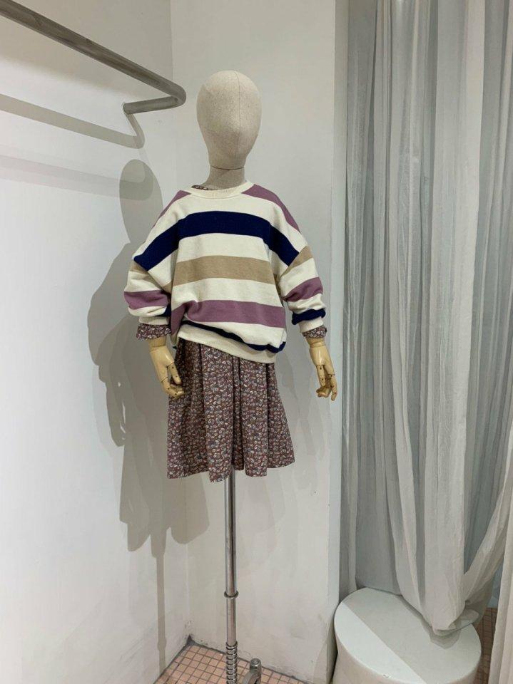 MOOI STORE - Korean Children Fashion - #Kfashion4kids - Dandan Stripe MTM - 9