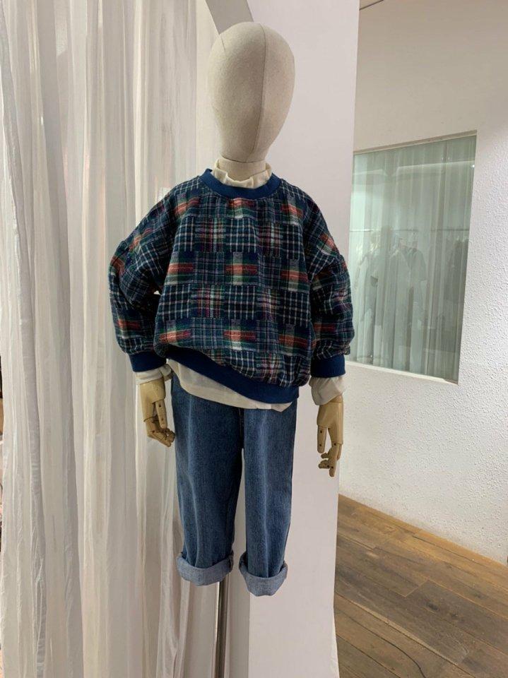 MOOI STORE - Korean Children Fashion - #Kfashion4kids - Ping String Denim Pants - 7