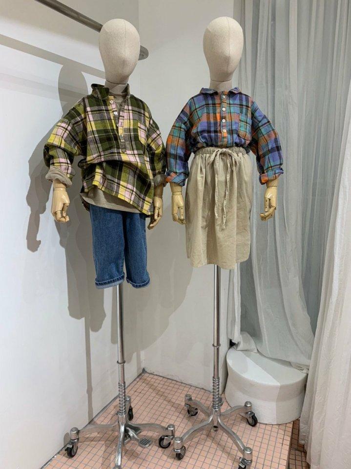 MOOI STORE - Korean Children Fashion - #Kfashion4kids - Ping String Denim Pants - 8