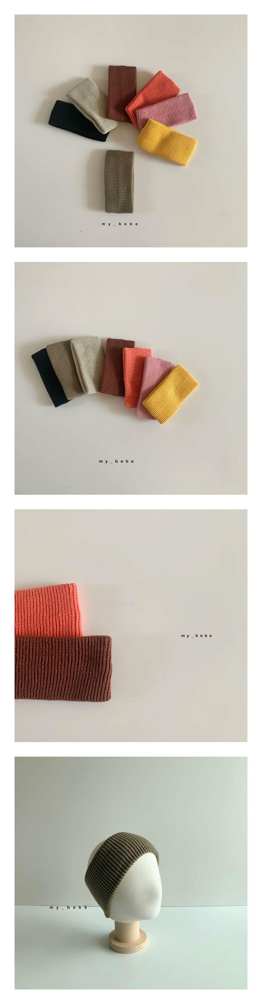 MY BEBE - Korean Children Fashion - #Kfashion4kids - Color Knit Hairband
