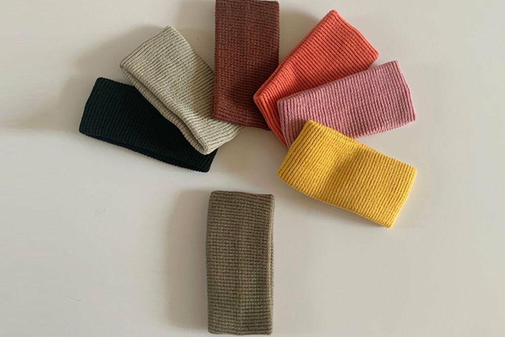 MY BEBE - BRAND - Korean Children Fashion - #Kfashion4kids - Color Knit Hairband