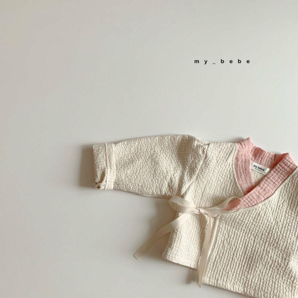 MY BEBE - Korean Children Fashion - #Kfashion4kids - Pink Hanbok Set - 8