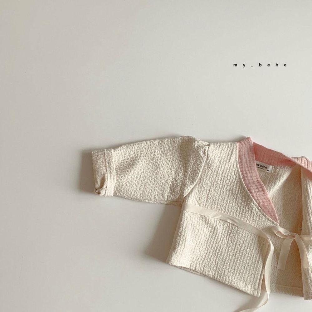 MY BEBE - Korean Children Fashion - #Kfashion4kids - Pink Hanbok Set - 9