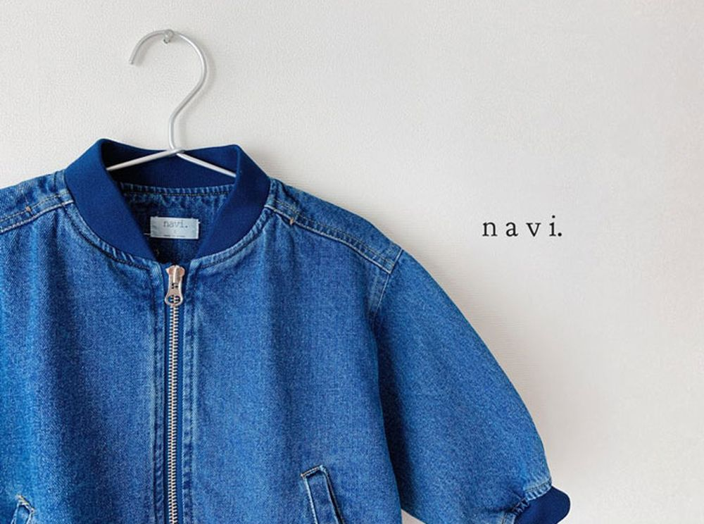 NAVI - Korean Children Fashion - #Kfashion4kids - Boxy Blouson