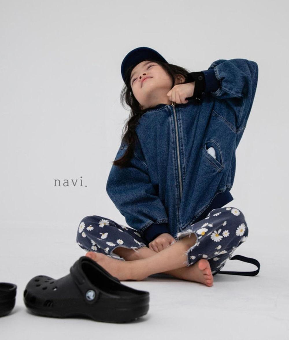 NAVI - BRAND - Korean Children Fashion - #Kfashion4kids - Boxy Blouson