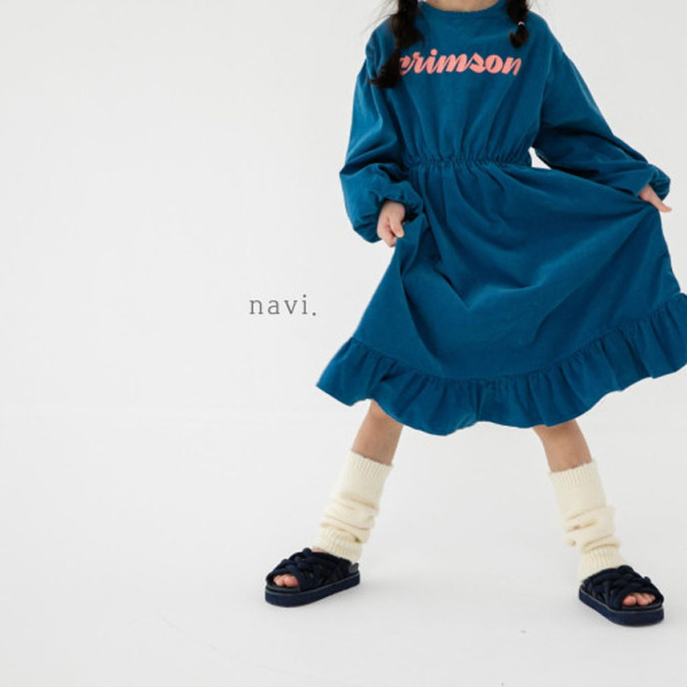 NAVI - BRAND - Korean Children Fashion - #Kfashion4kids - Crimson One-piece