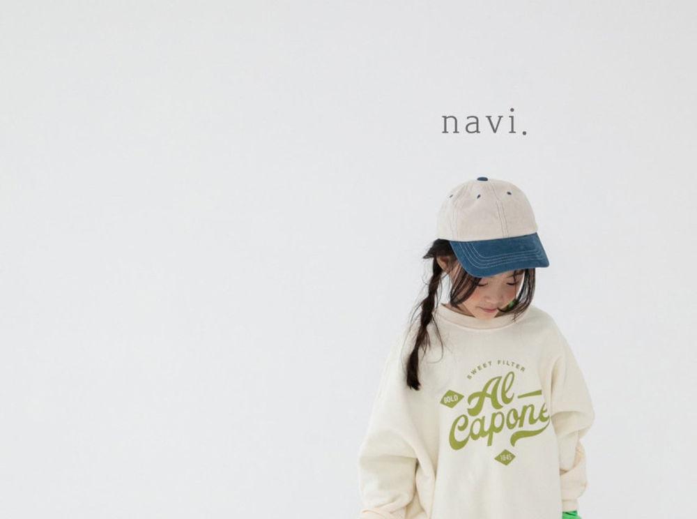 NAVI - Korean Children Fashion - #Kfashion4kids - Stamp MTM