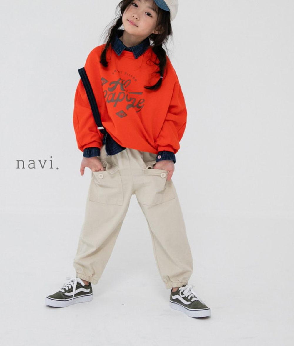 NAVI - BRAND - Korean Children Fashion - #Kfashion4kids - Stamp MTM