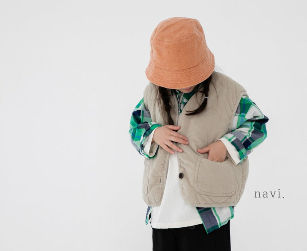 NAVI - Korean Children Fashion - #Kfashion4kids - To The Corduroy Vest
