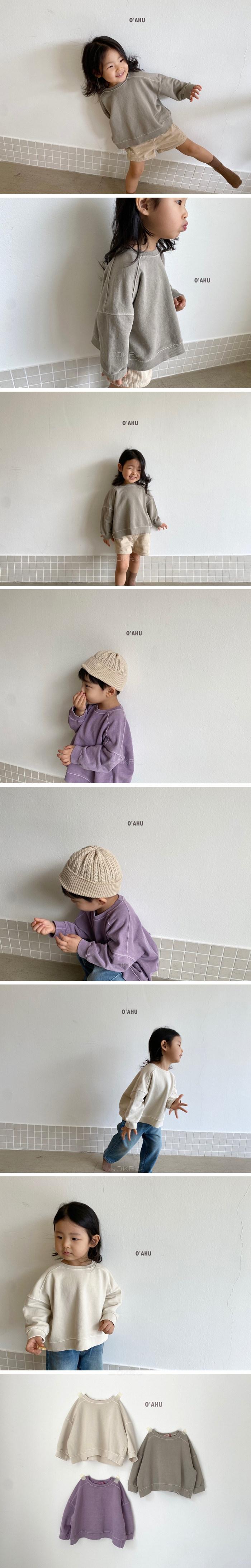 O'AHU - Korean Children Fashion - #Kfashion4kids - Purge Dying MTM with Mom