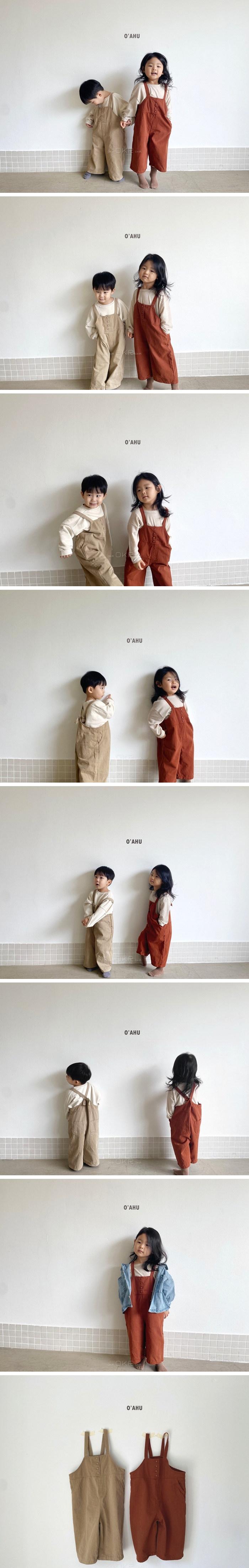 O'AHU - Korean Children Fashion - #Kfashion4kids - Tig Suspender Pants
