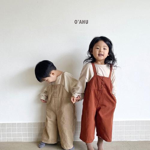 O'AHU - BRAND - Korean Children Fashion - #Kfashion4kids - Tig Suspender Pants