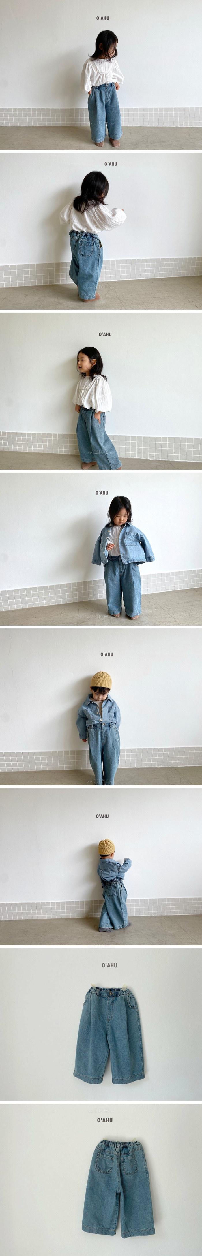 O'AHU - Korean Children Fashion - #Kfashion4kids - Brooklyn Denim Pants