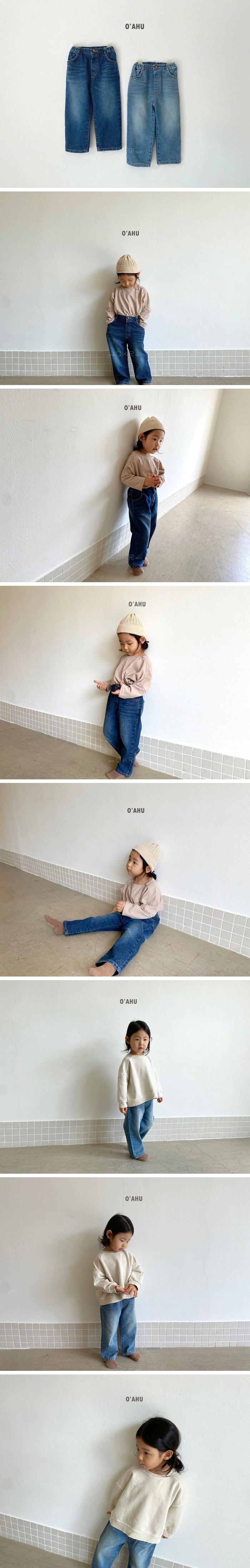 O'AHU - Korean Children Fashion - #Kfashion4kids - APC Denim Pants