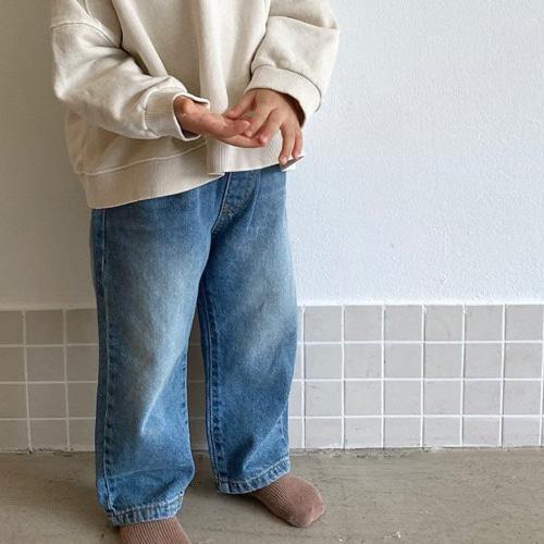 O'AHU - BRAND - Korean Children Fashion - #Kfashion4kids - APC Denim Pants
